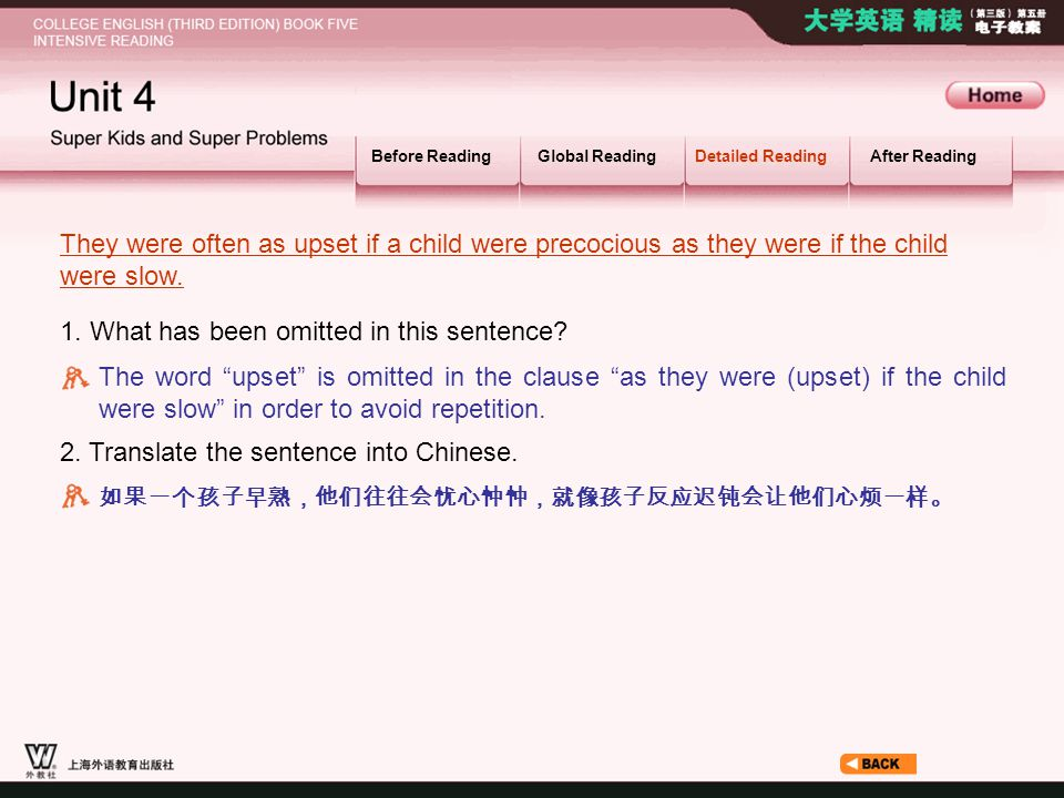 Article1-2_S_They were… Before ReadingGlobal ReadingDetailed ReadingAfter Reading 1.