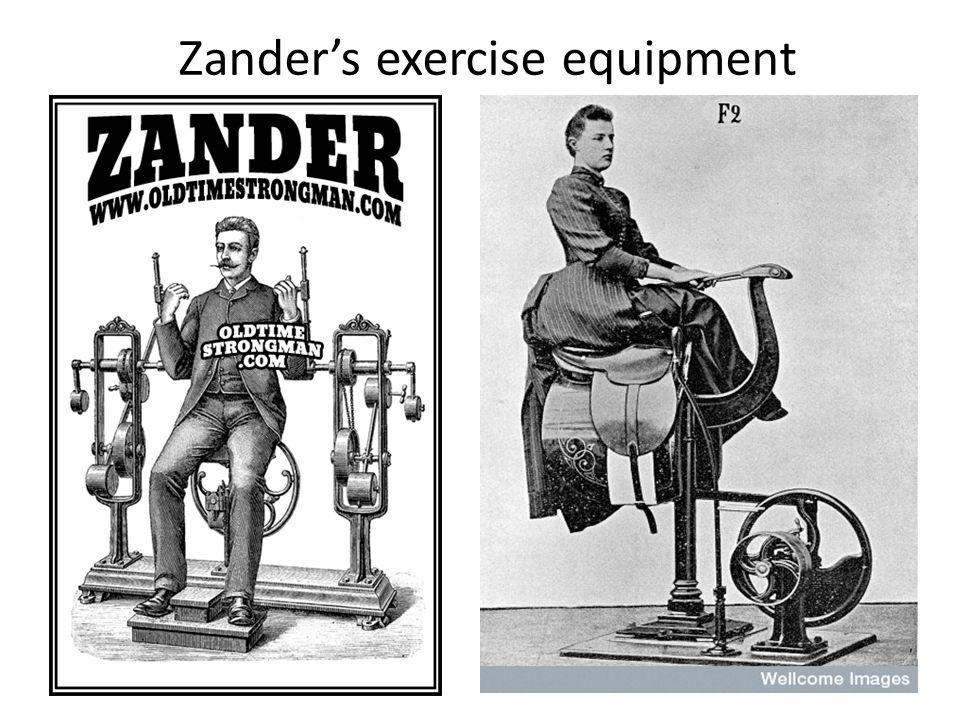 Zander's exercise equipment