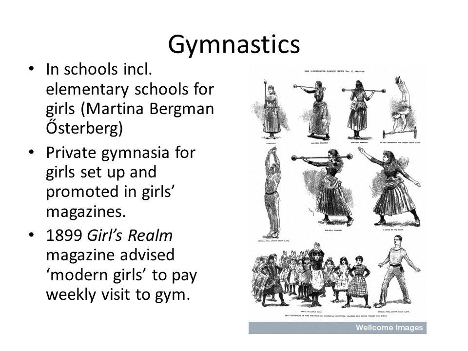 Gymnastics In schools incl.