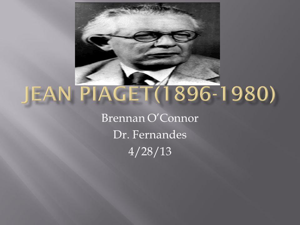 Brennan O'Connor Dr. Fernandes 4/28/13