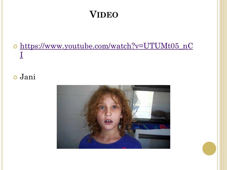 V IDEO https://www.youtube.com/watch v=UTUMt05_nC I Jani