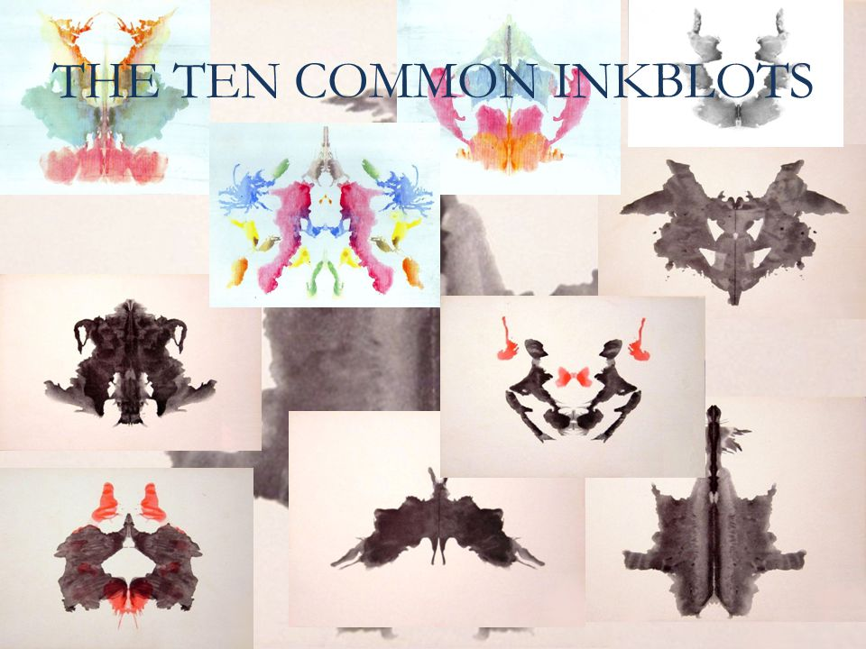 THE TEN COMMON INKBLOTS