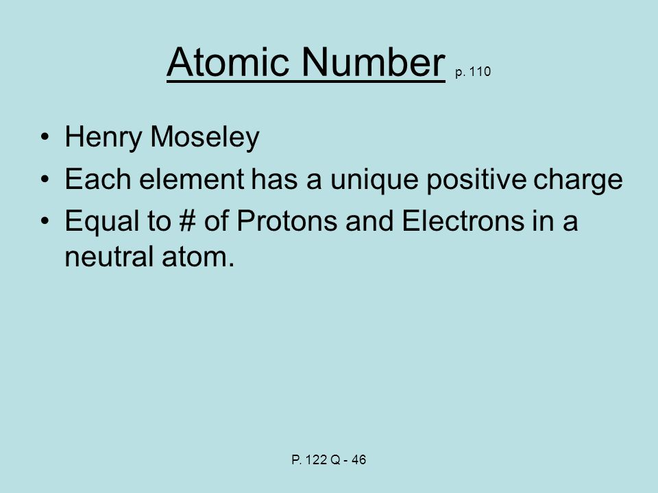 Atomic Number p.