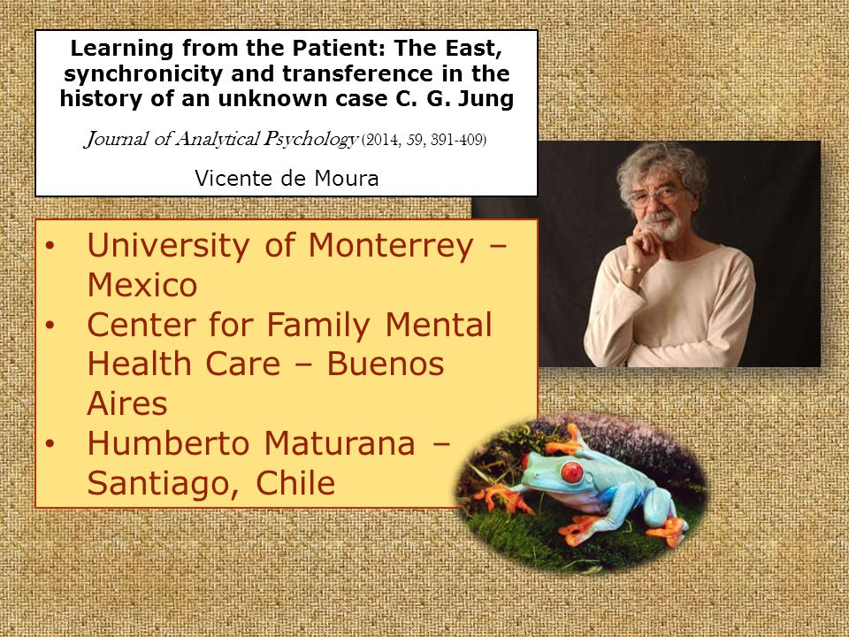 Learning from the Patient: The East, synchronicity and transference in the history of an unknown case C.