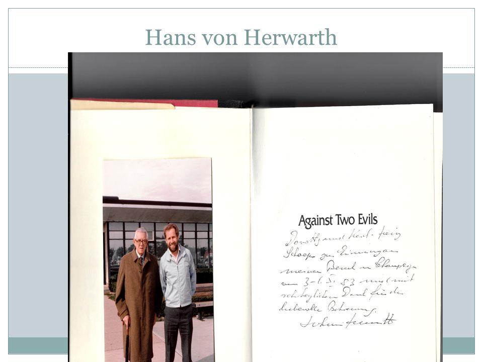 Hans von Herwarth