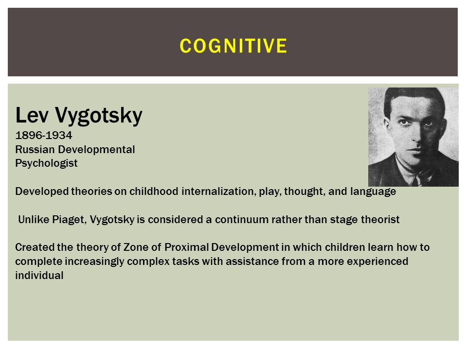 COGNITIVE Aaron Beck 1921 American Cognitive Therapist University of Pennsylvania Considered the father of cognitive therapy Developed self-assessment