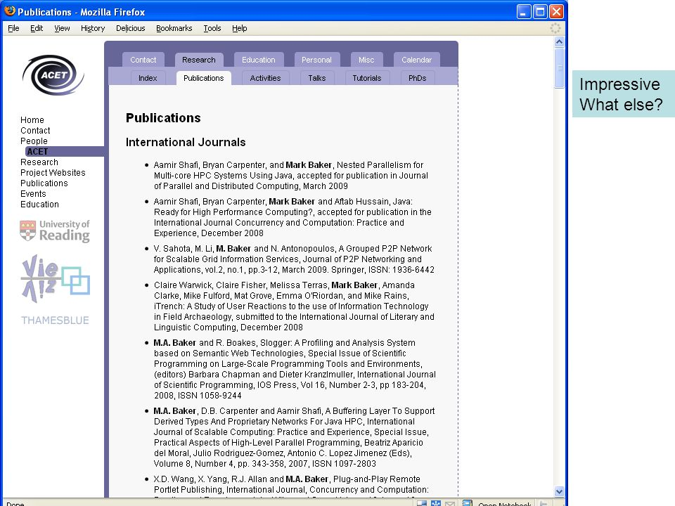 What nothing since 2005? Let's try Google Scholar