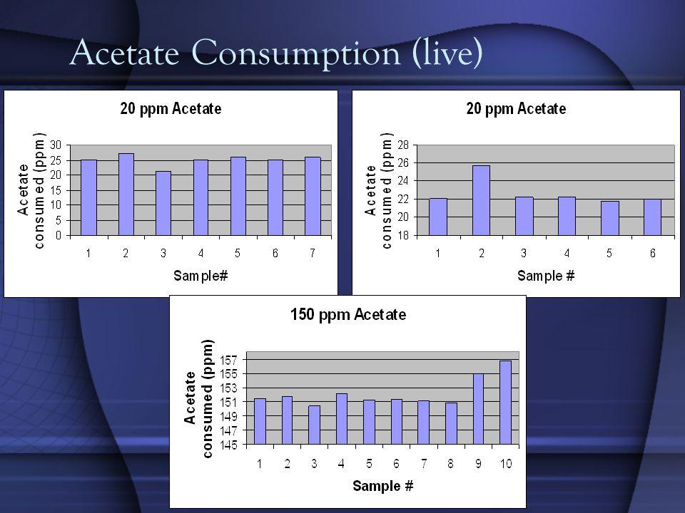 Acetate Consumption (live)