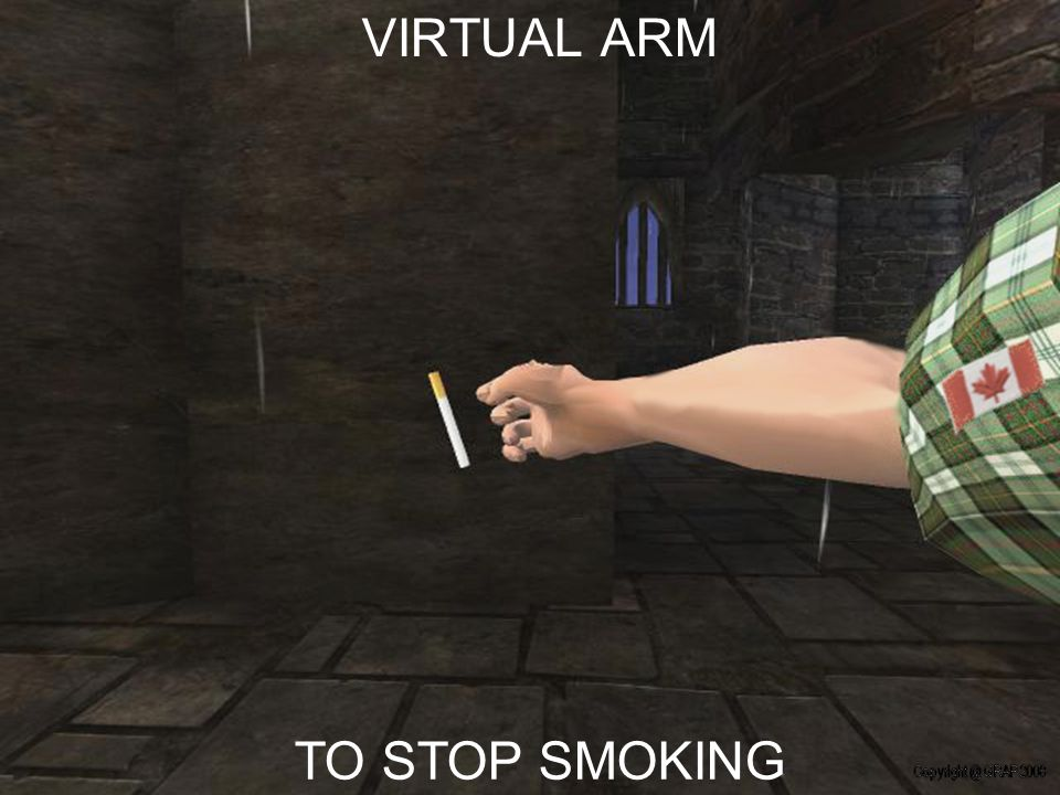 TO STOP SMOKING VIRTUAL ARM