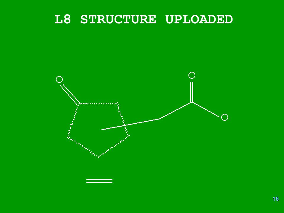 16 L8 STRUCTURE UPLOADED
