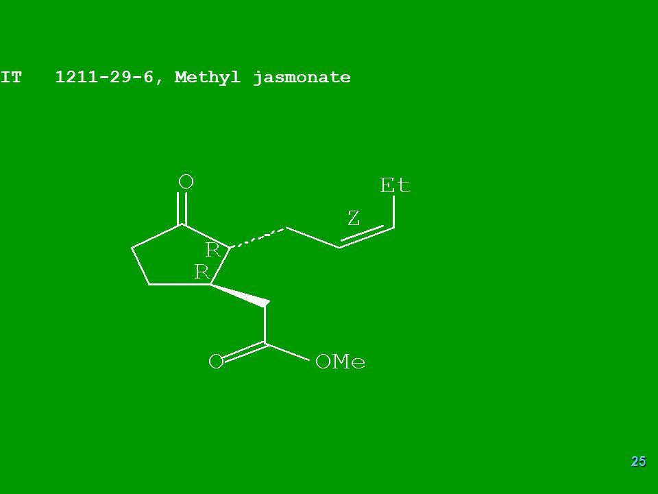 25 IT 1211-29-6, Methyl jasmonate