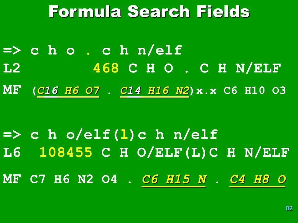 82 => c h o.c h n/elf L2 468 C H O. C H N/ELF C16 H6 O7C14 H16 N2 MF (C16 H6 O7.
