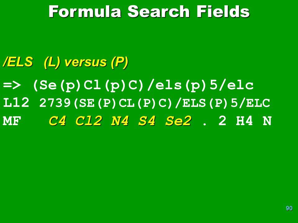 90 => (Se(p)Cl(p)C)/els(p)5/elc L12 2739(SE(P)CL(P)C)/ELS(P)5/ELC C4 Cl2 N4 S4 Se2 MF C4 Cl2 N4 S4 Se2.