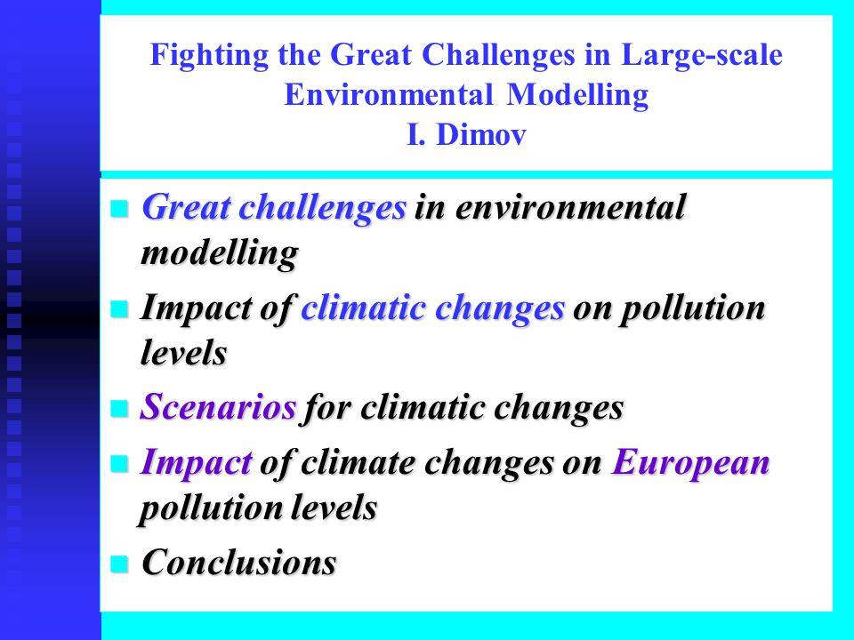 Climatic Scenario 3