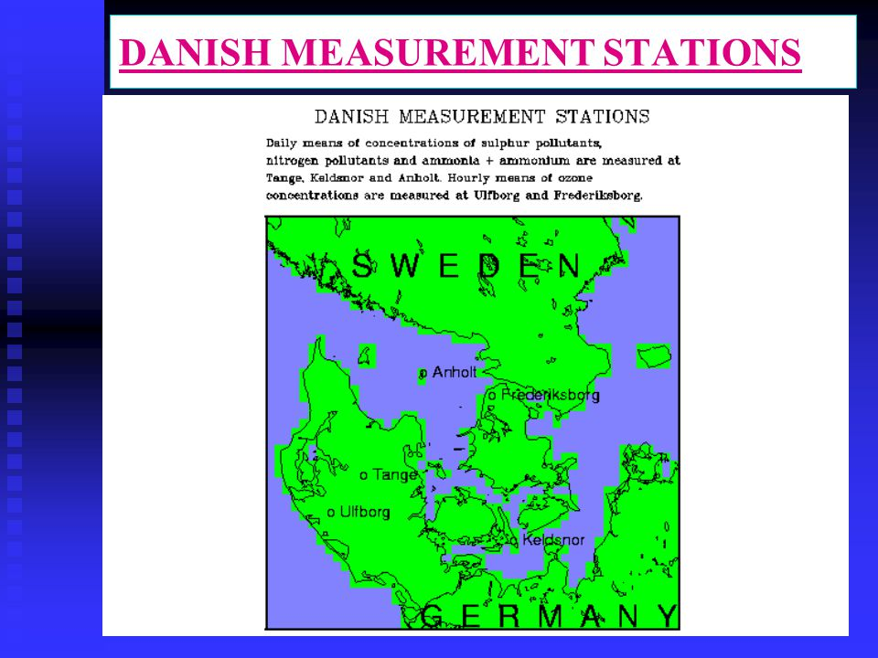 DANISH MEASUREMENT STATIONS