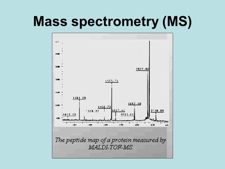 Mass spectrometry (MS)