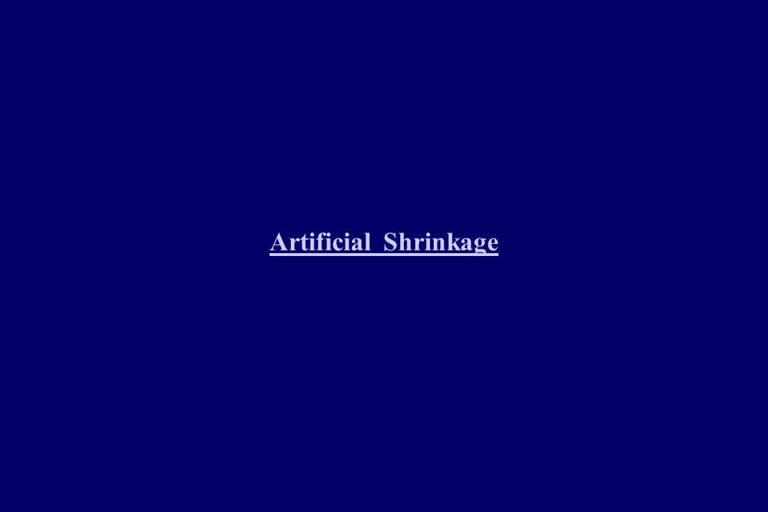 Artificial Shrinkage