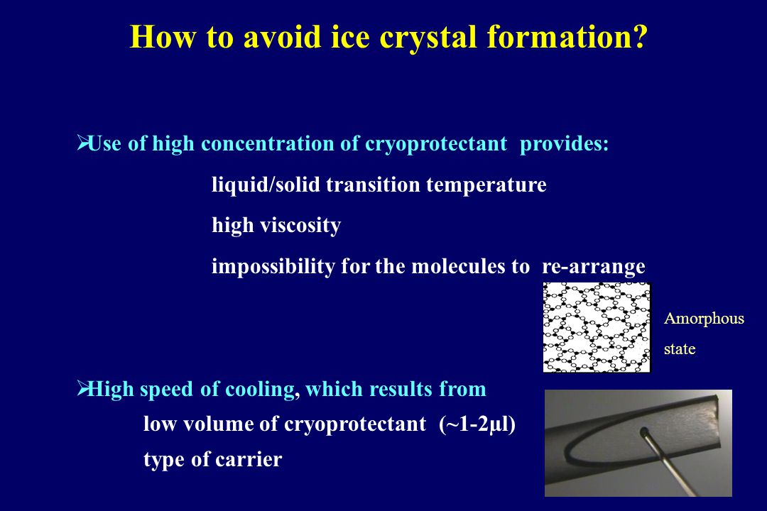 First pregnancy in 1985 Cohen J Slow Freezing protocols Seeding –6°C0.3°C/min -37°C Glycerol 10%