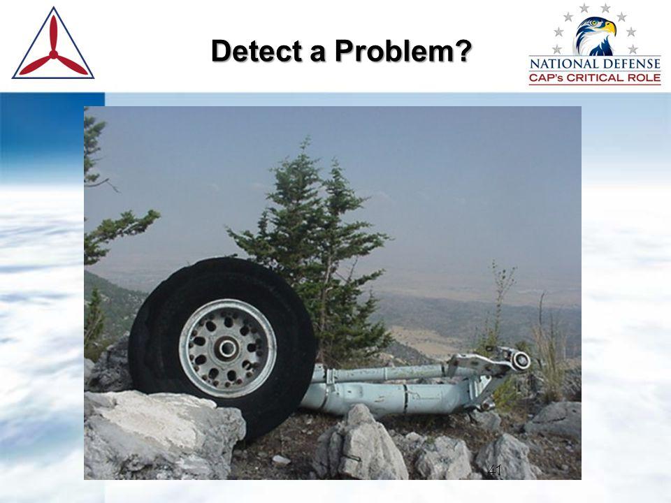 Detect a Problem 41