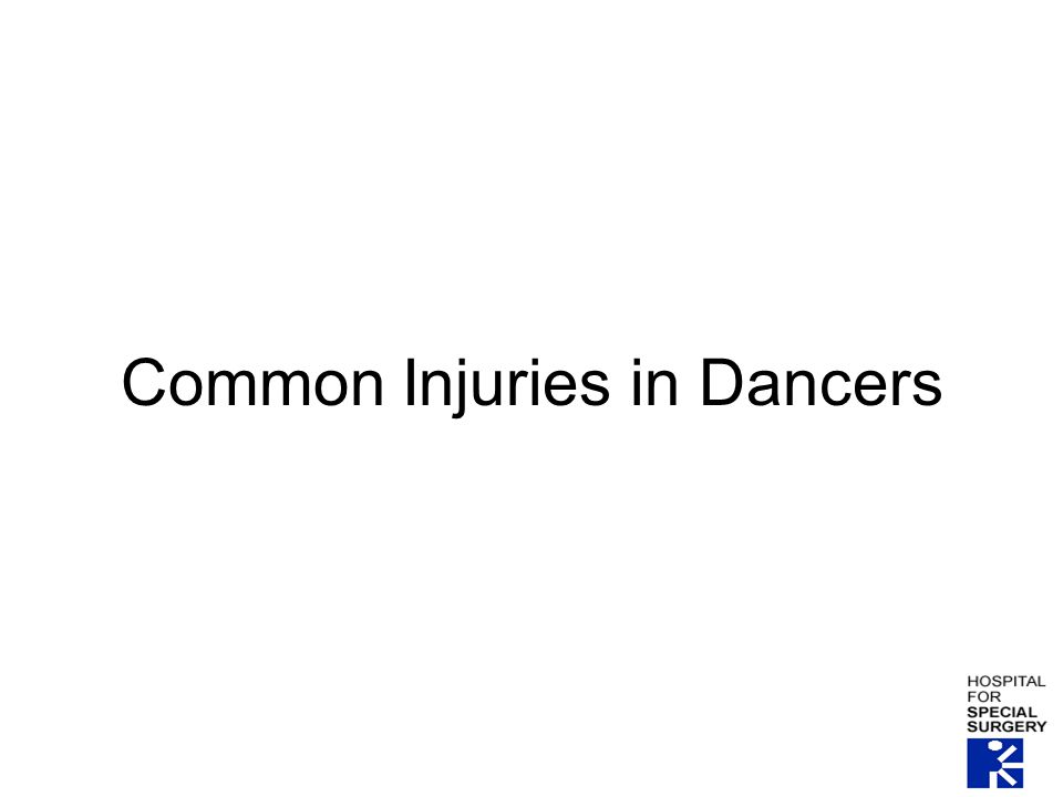 Common Injuries in Dancers
