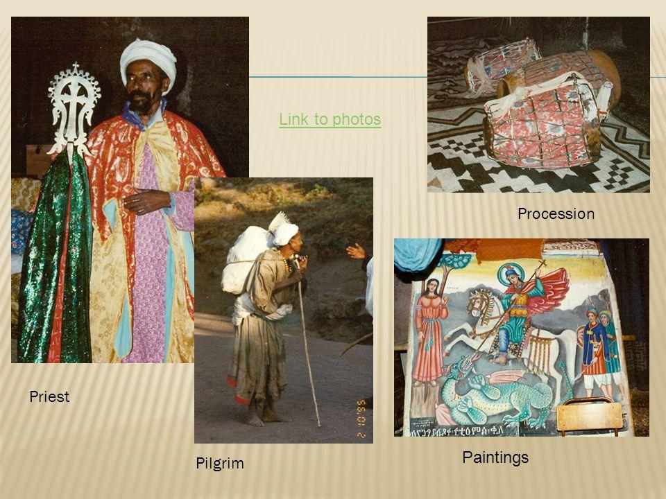 Priest Pilgrim Procession Paintings Link to photos