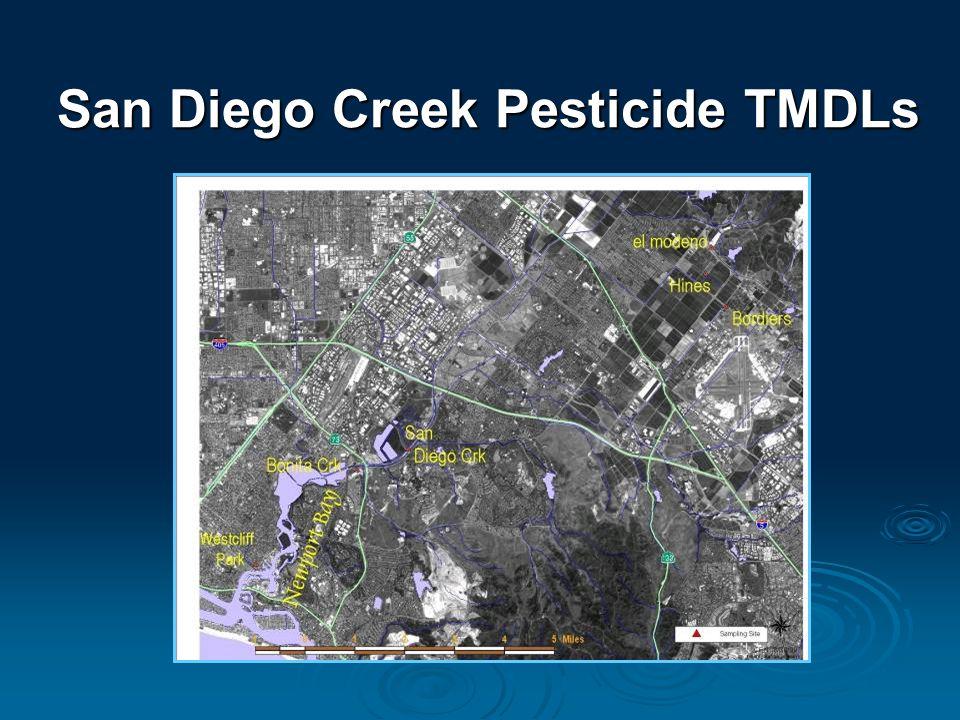 San Diego Creek Pesticide TMDLs