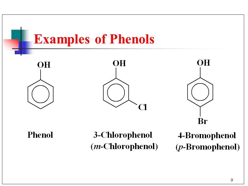9 Examples of Phenols
