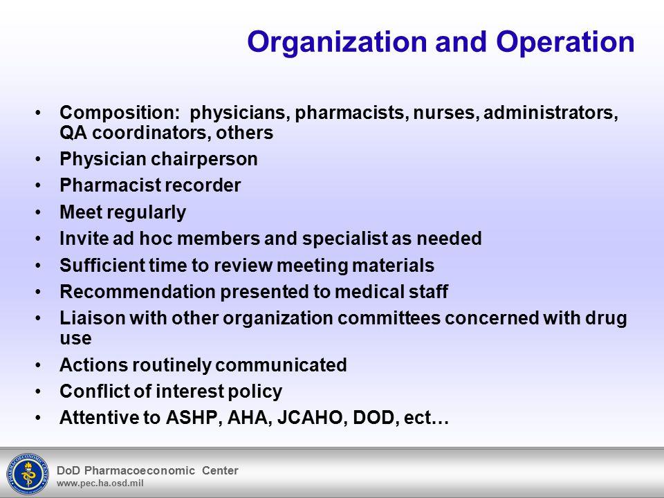 DoD Pharmacoeconomic Center www.pec.ha.osd.mil End capture jpg Back