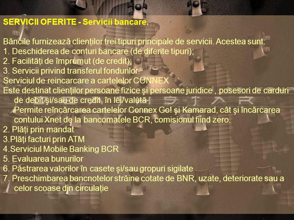 BBanca Comercilã Românã are o cota de piaţã de 30% din sistem bancar românesc şi gestionează active de aproximativ 5 miliarde de EUR. ÎÎn ultimii