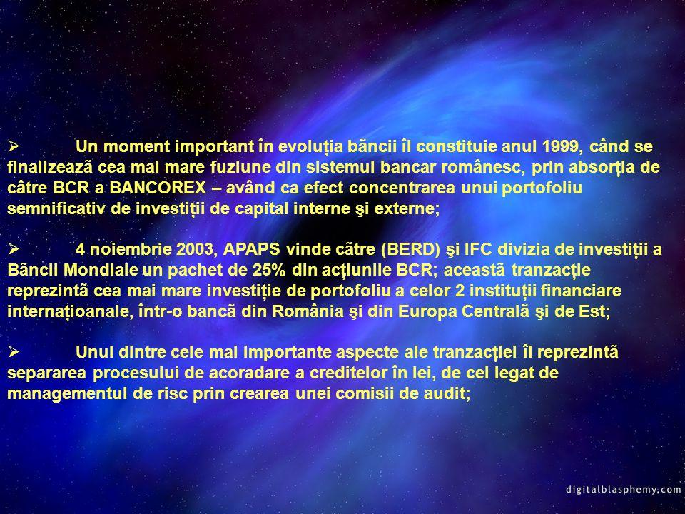 Banca Comercialã Românã Anglo-Romanian Bank Ltd Frankfurt Bukarest Bank AG Banque Franco-Roumaine BCR Chişinãu BCR Securities BCR Asigurãri BCR Asset