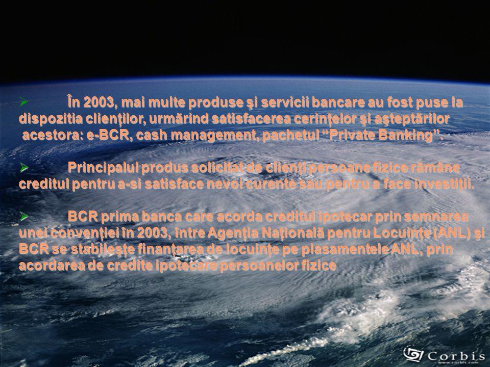  Un moment important în evoluţia bãncii îl constituie anul 1999, când se finalizeazã cea mai mare fuziune din sistemul bancar românesc, prin absorţia de câtre BCR a BANCOREX – având ca efect concentrarea unui portofoliu semnificativ de investiţii de capital interne şi externe;  4 noiembrie 2003, APAPS vinde cãtre (BERD) şi IFC divizia de investiţii a Bãncii Mondiale un pachet de 25% din acţiunile BCR; aceastã tranzacţie reprezintã cea mai mare investiţie de portofoliu a celor 2 instituţii financiare internaţioanale, într-o bancã din România şi din Europa Centralã şi de Est;  Unul dintre cele mai importante aspecte ale tranzacţiei îl reprezintã separarea procesului de acoradare a creditelor în lei, de cel legat de managementul de risc prin crearea unei comisii de audit;
