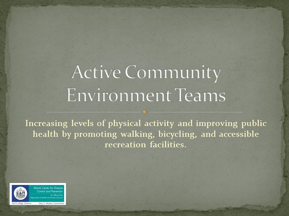 Before inviting municipal officials to attend an ACE Team meeting you will want to identify the local community advocates, bike/ped committee, trail committee, community forest board members, citizens who get it .
