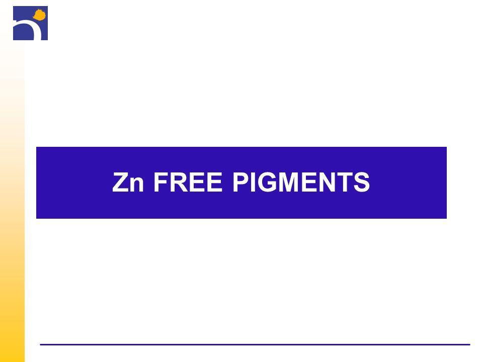 Zn free pigments Calcium Strontium Phosphosilicates: aM*.