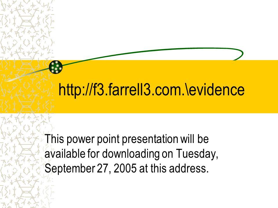 Expert Witnesses 101 Michael J.Farrell Farrell, Farrell & Farrell, L.C.