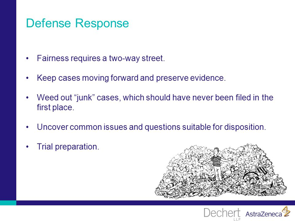 Defense Response Fairness requires a two-way street.