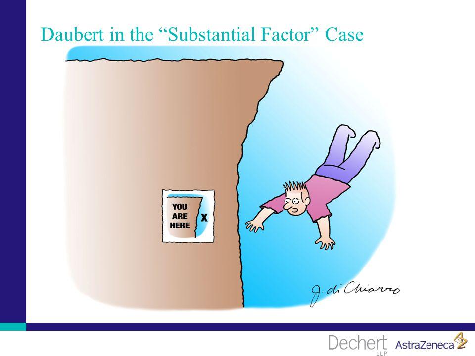 Daubert in the Substantial Factor Case
