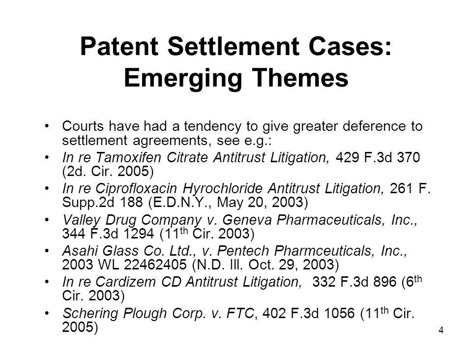 35 FTC v.Schering-Plough cert. denied (Sup. Ct.