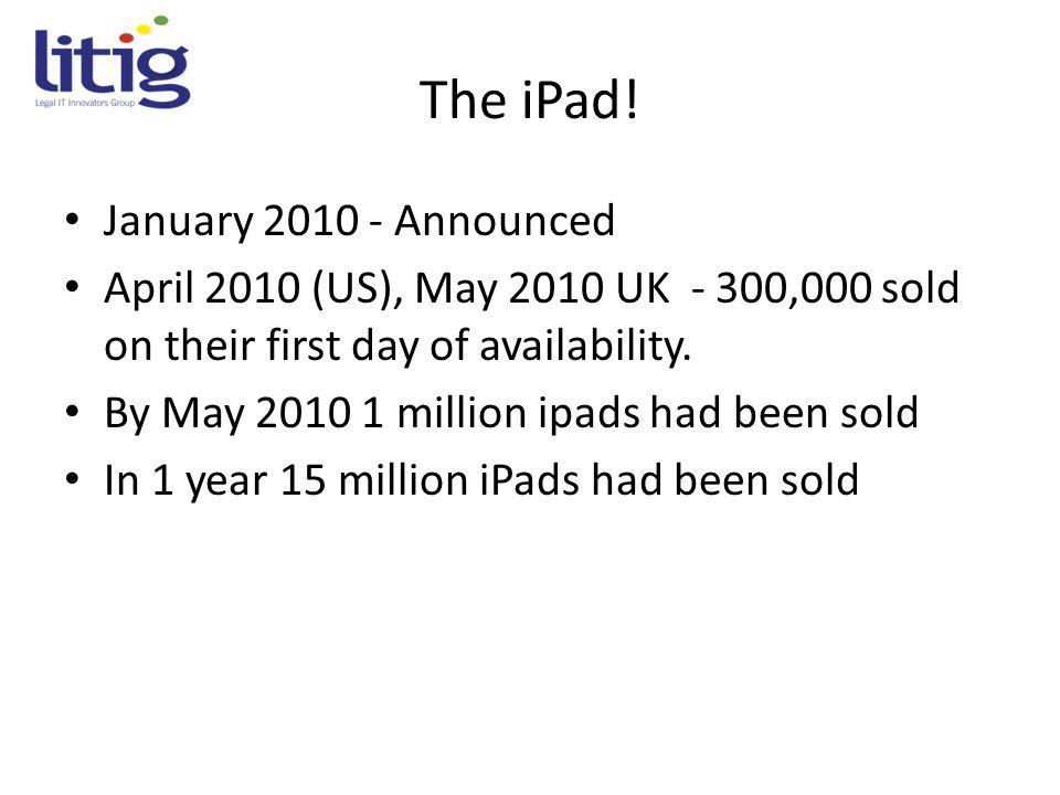 The iPad.