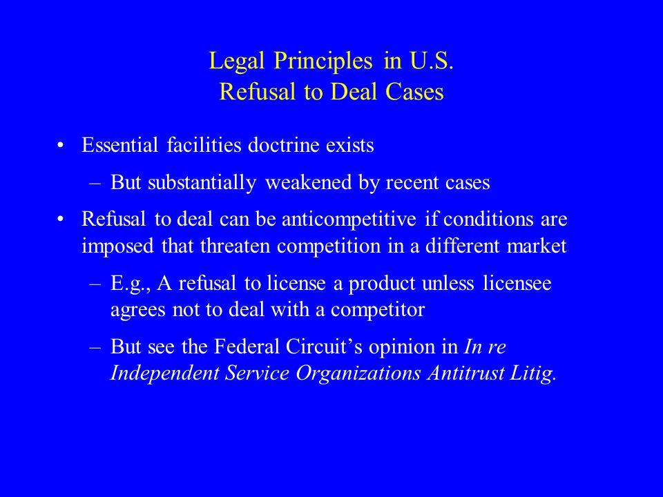 Legal Principles in U.S.