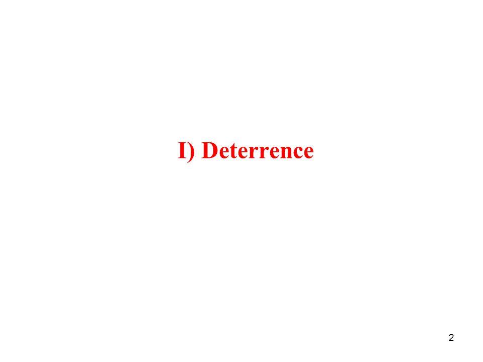 2 I) Deterrence