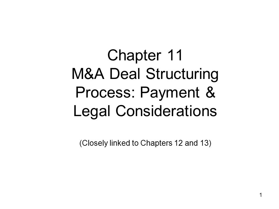 Tax Considerations: Impact on Combined Businesses' Shareholders Avoiding double (i.e., by firm and shareholder) or triple taxation (i.e., by firm; shareholder on sale proceeds & possible liquidating dividend) Allocating losses to owners 22