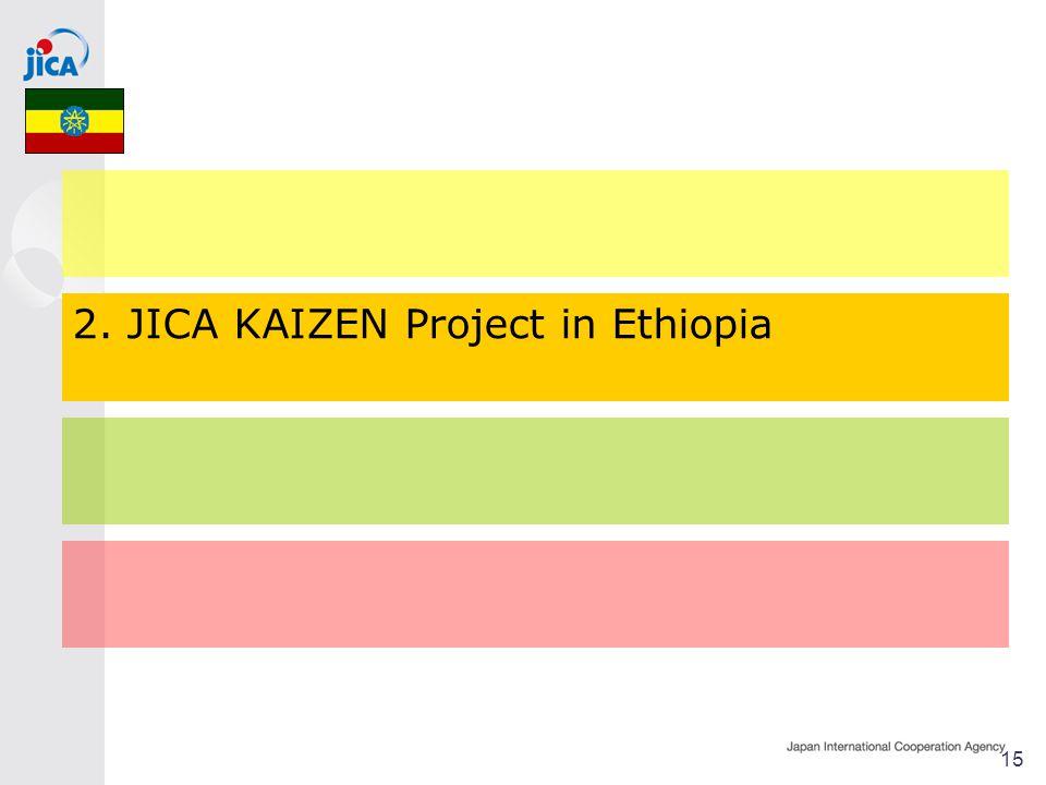 2. JICA KAIZEN Project in Ethiopia 15