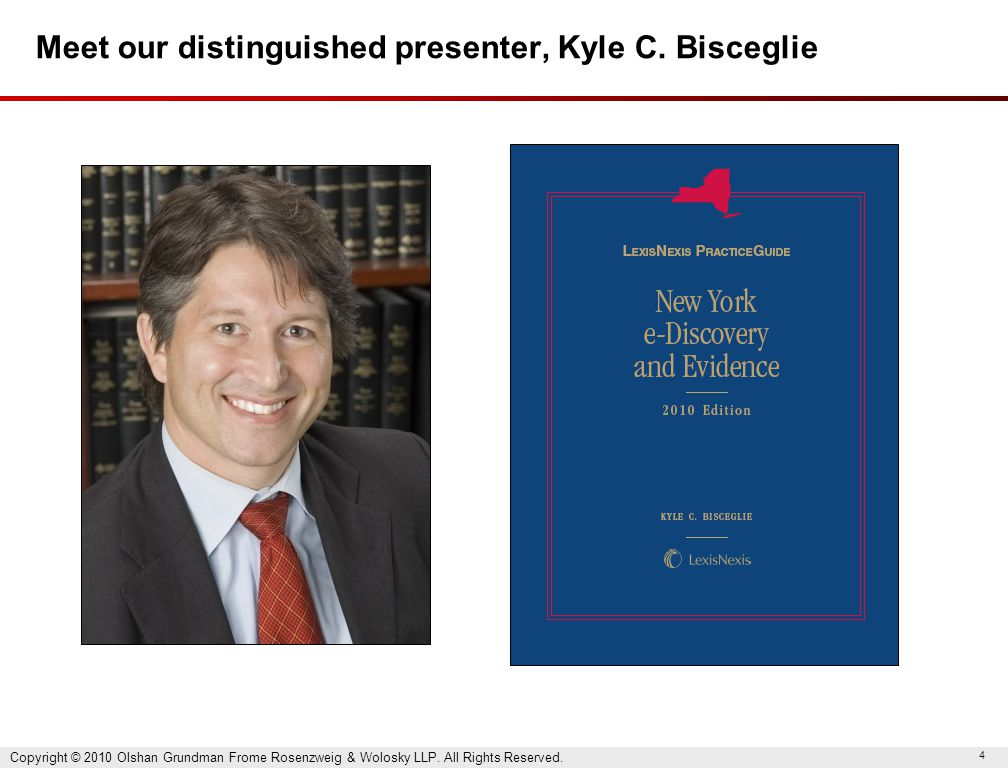 4 Meet our distinguished presenter, Kyle C.