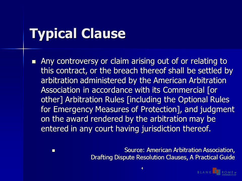 5 Selection of Arbitrators Specific Qualifications Specific Qualifications Industry Specific Industry Specific Number of Arbitrators Number of Arbitrators Party-Neutral Arbitrators Party-Neutral Arbitrators