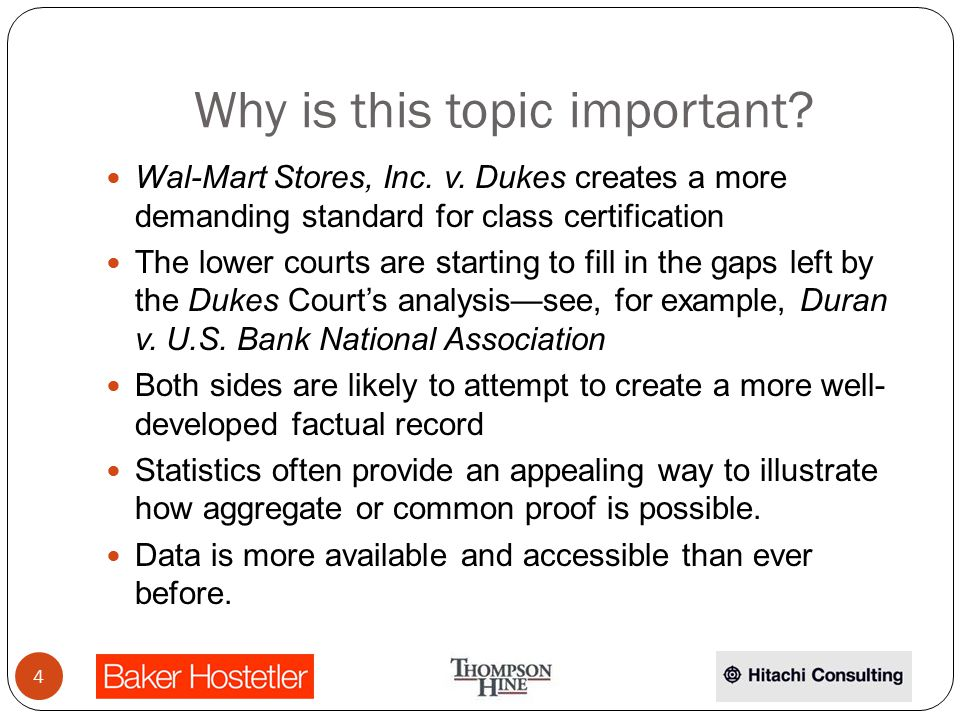 Why is this topic important. Wal-Mart Stores, Inc.