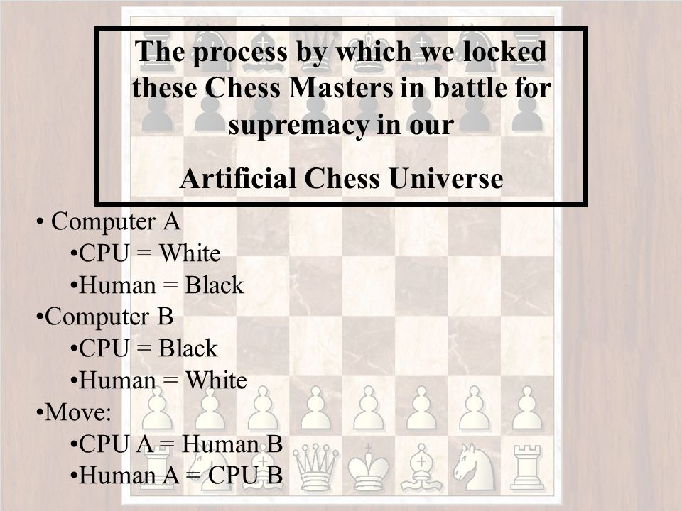 Computer Chess Masters Players That Squared off to be come our champions of this Artificial Chess Universe: Chessmaster 8,000 Star Wars Chess Chessterfield vi3