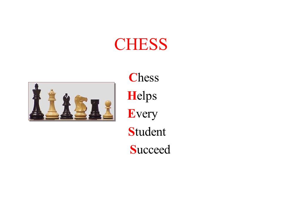 CHESS Chess Helps Every Student Succeed