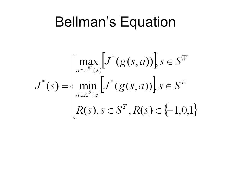 Bellman's Equation