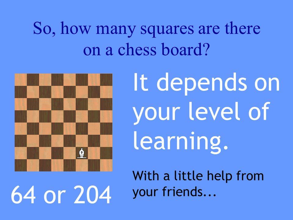 So, 64 + 49 + 36 + 25 + 16 + 9 +4 + 1 equals 204 4