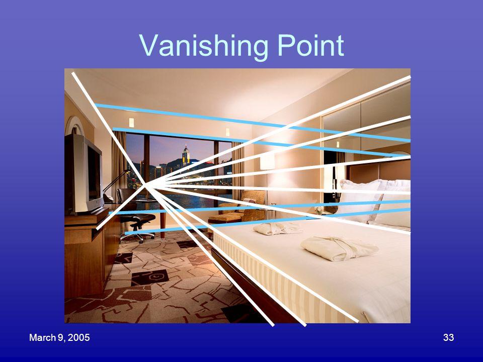March 9, 200533 Vanishing Point
